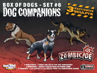 Zombicide: Box of Dogs Set #6: Dog Companions - Cover