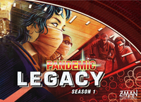 Pandemic Legacy: Season 1 - Cover