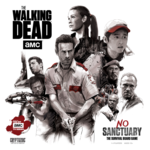 The Walking Dead: No Sanctuary - Cover