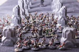 Armee mit Balrog von vorne