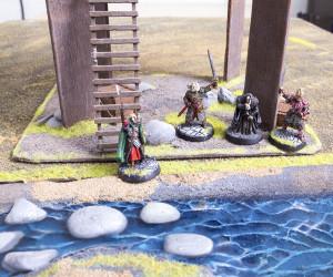 Theoden, Eomer und Grima Schlangenzunge