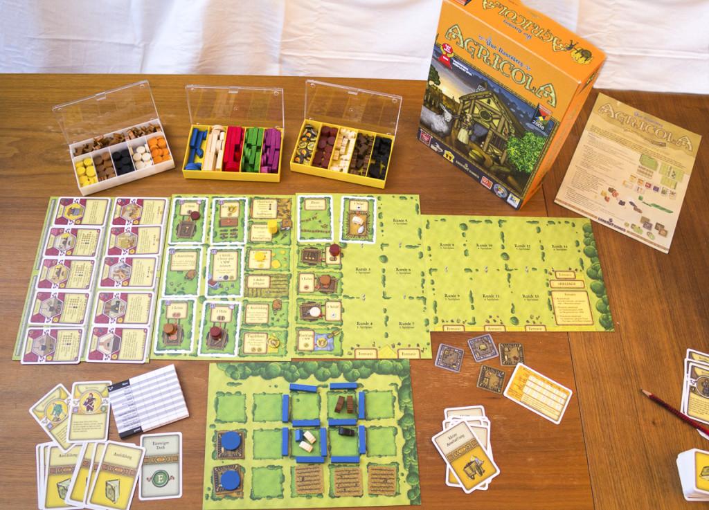 Agricola - Spielaufbau