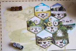 Robinson Crusoe: Inselteile