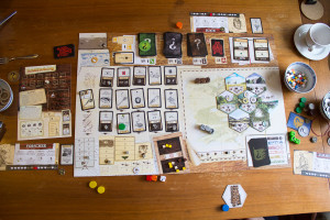 Robinson Crusoe: Spielaufbau