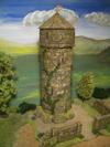 Wehrturm  (mit gemauerter Spitze)