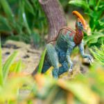 Lost World: Tyrannosaurus und Parasaurolophus