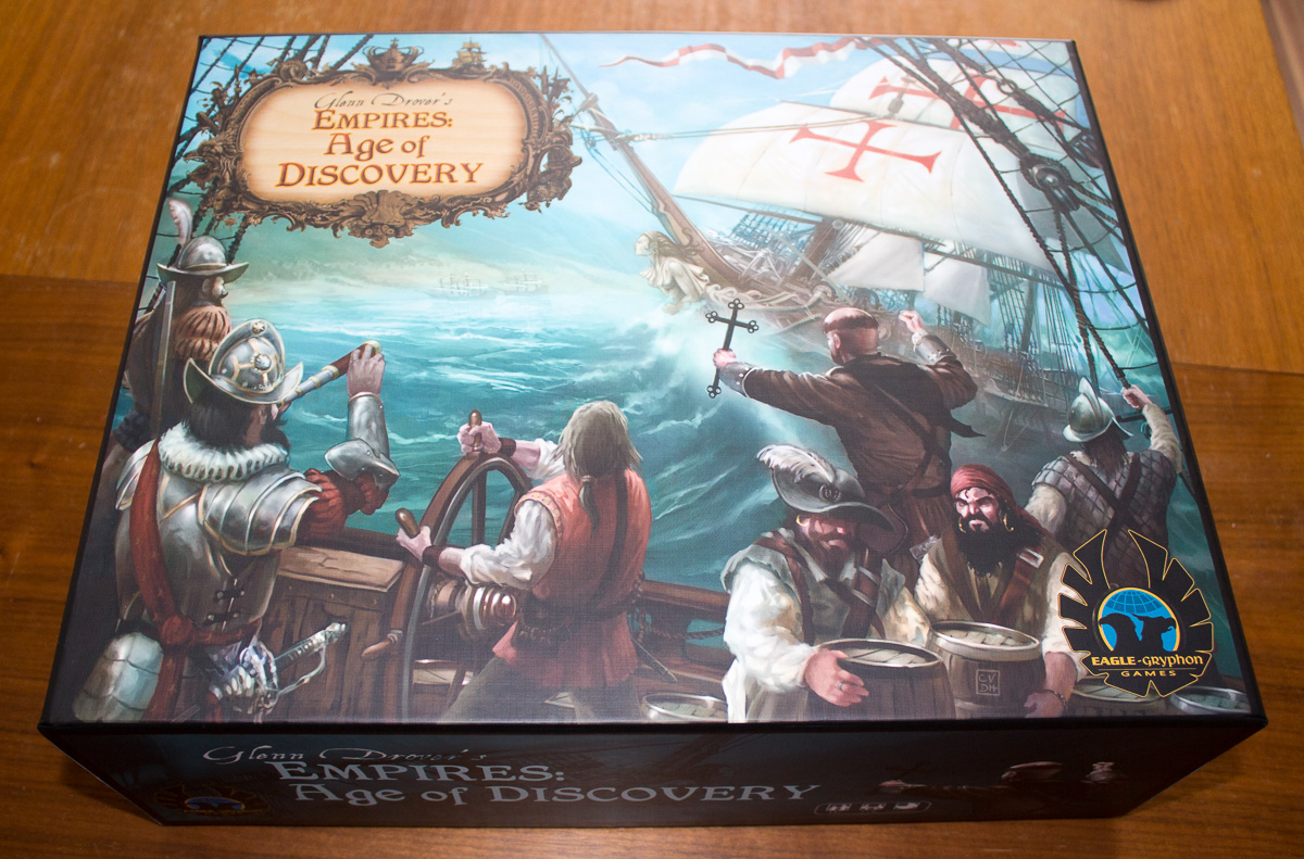 Empires: Age of Discovery – Unboxing
