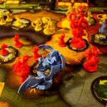 Cthulhu Wars - Figuren und Spielplan