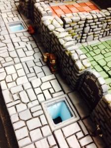 HeroQuest 3D - Falltür offen