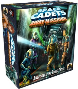 Space Cadets Away Missions - Box