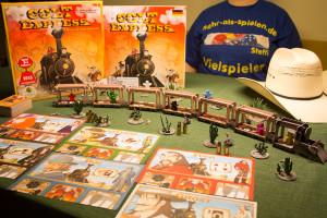 Colt Express: Spielaufbau