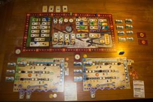 Russian Railroads - Spielaufbau