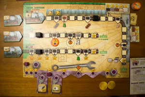 Russian Railroads - Spielertableau