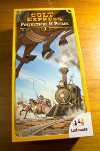 Colt Express: Postkutsche & Pferde - Box