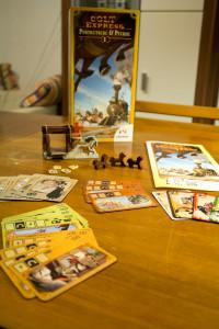 Colt Express: Postkutsche & Pferde - Spielmaterial