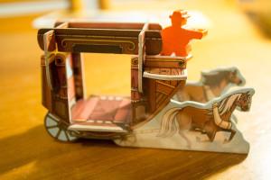 Colt Express: Postkutsche & Pferde - Postkutsche