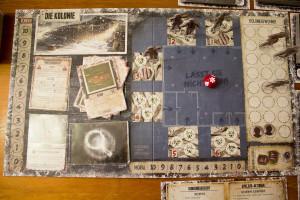 Winter der Toten - Spielplan