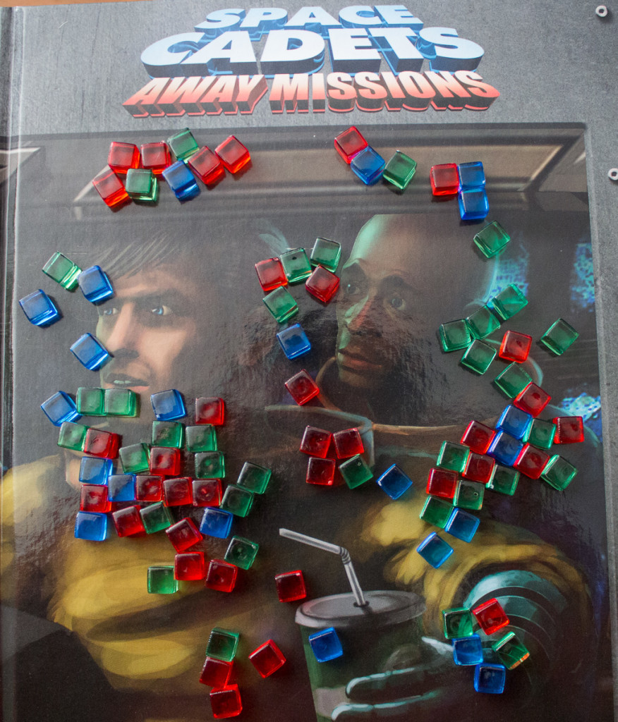 Space Cadets Away Missions - Missionsbuch