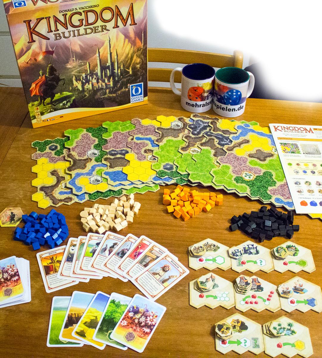 Kingdom Builder – Spiel des Jahres 2012 – Rezension