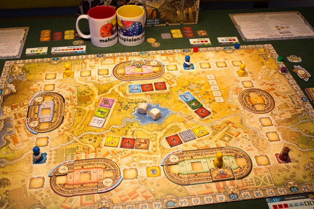 Colosseum - Spielplan
