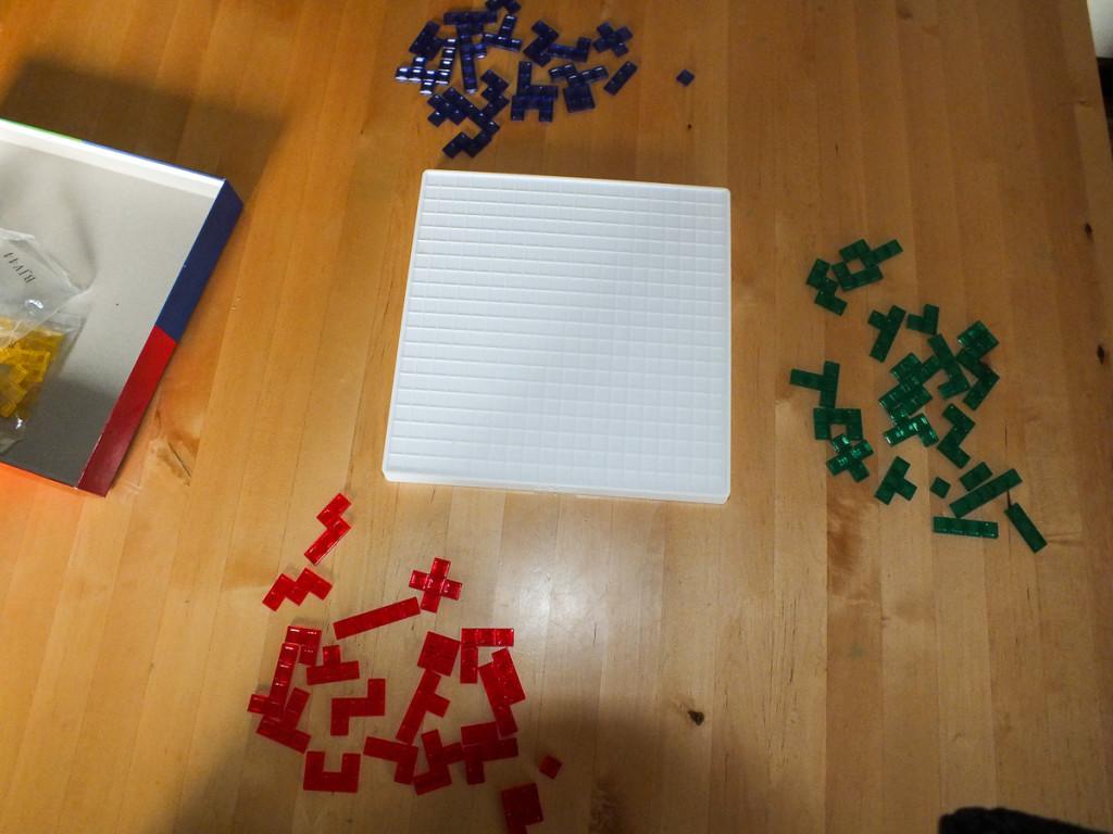 Blokus - Spielaufbau