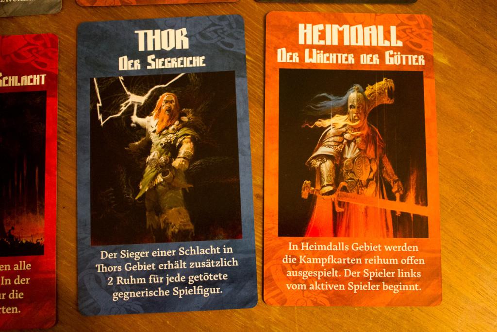 Blood Rage - Gods of Asgard Erweiterung