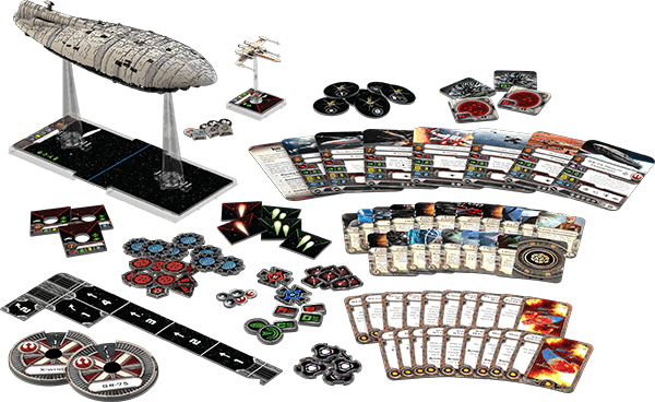 Star Wars: X-Wing - Rebellentransporter - Material