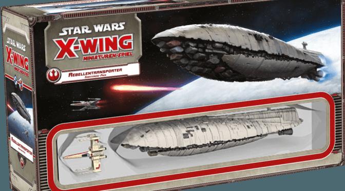 Star Wars: X-Wing - Rebellentransporter - Box