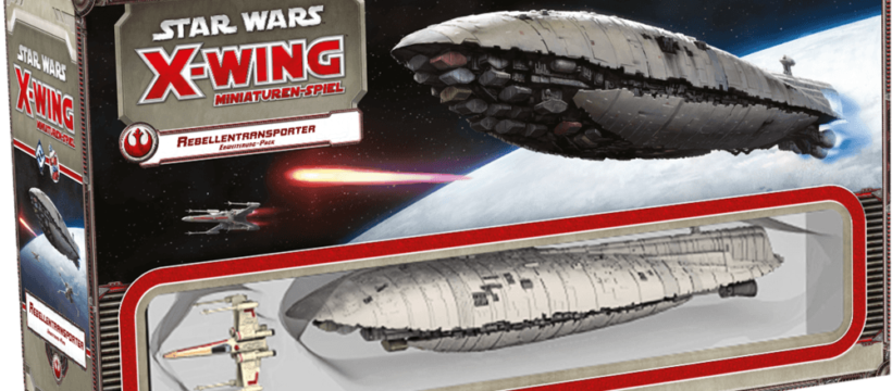 Star Wars: X-Wing - Rebellentransporter - Box