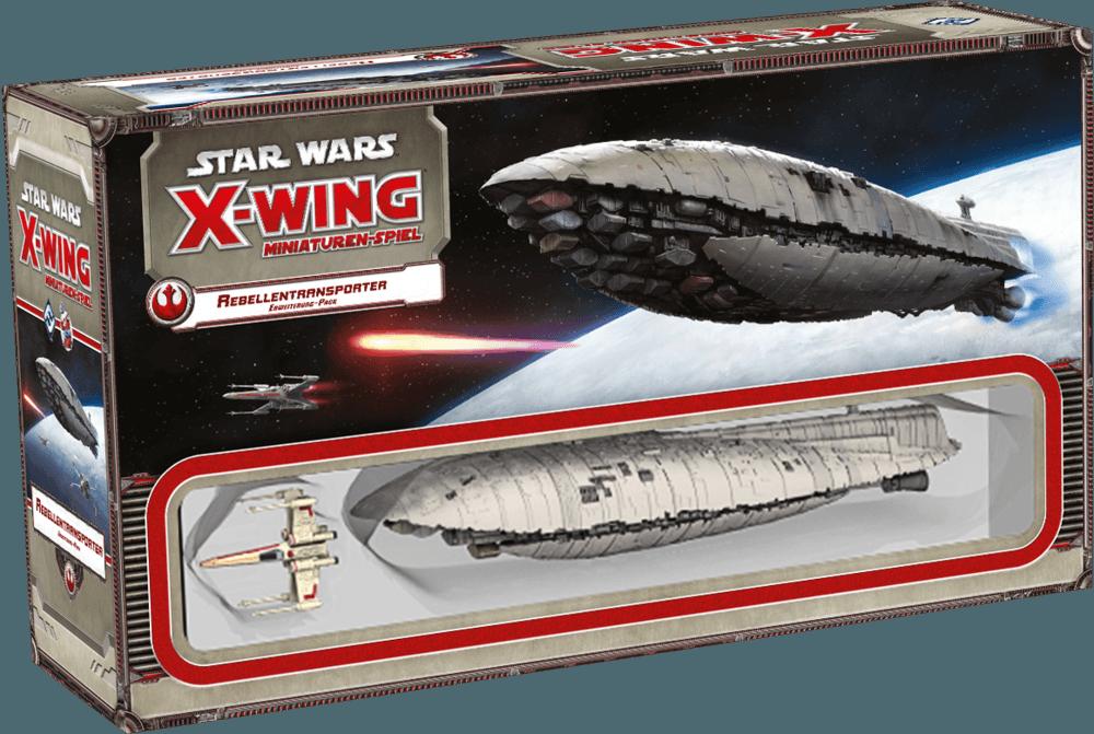 Star Wars X- Wing Ikonische Raumschiffe – Rebellentransporter Rezension