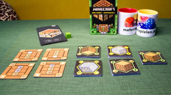 Minecraft Kartenspiel - Spielmaterial