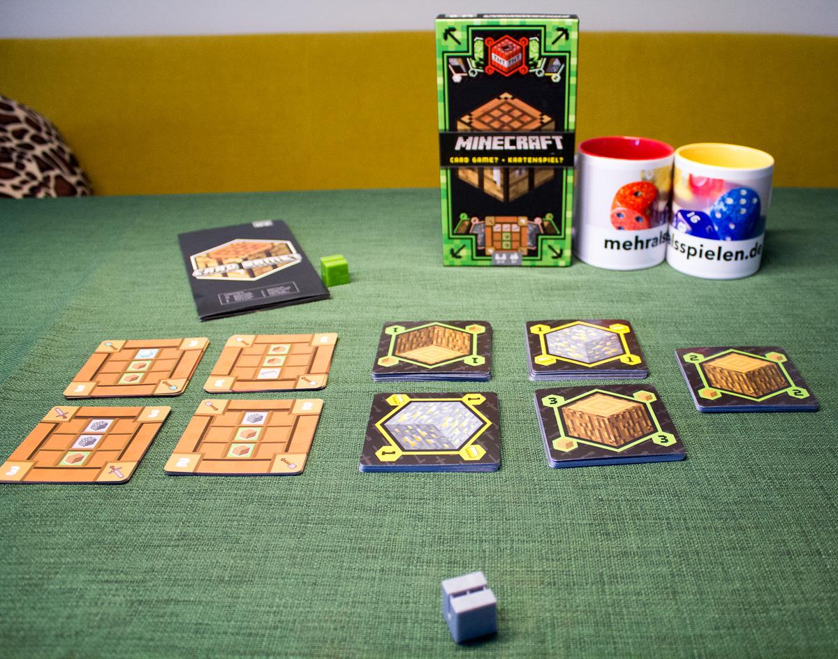 Minecraft das Kartenspiel – Rezension