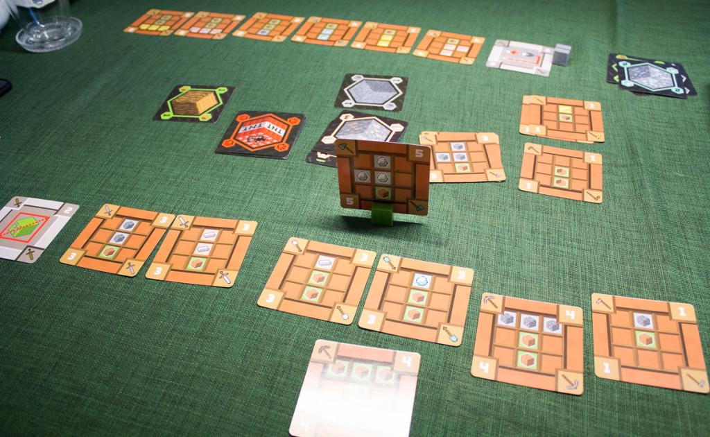 Minecraft Kartenspiel – Spielszene 2