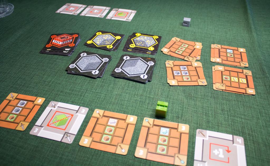 Minecraft Kartenspiel – Spielszene 3