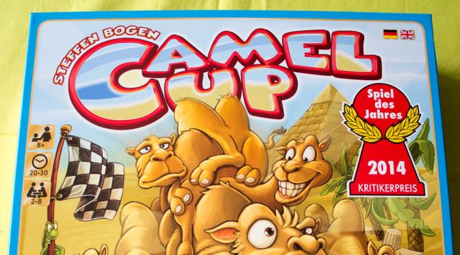 Camel Up Spiel des Jahres 2014 — Rezension