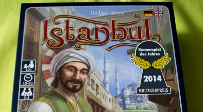 Istanbul – Kennerspiel des Jahres 2014 – Rezension