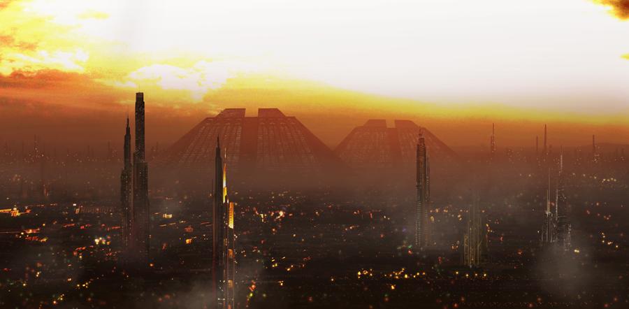 Blade Runner - Stadtansicht