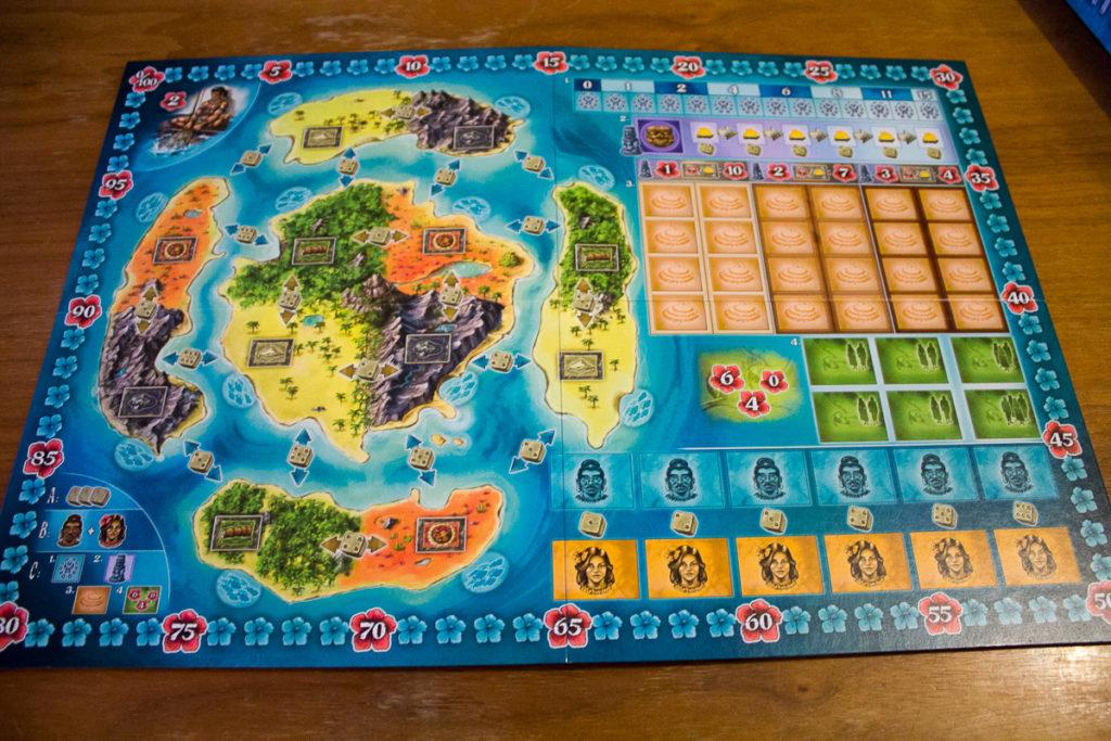 Bora Bora - Spielbrett