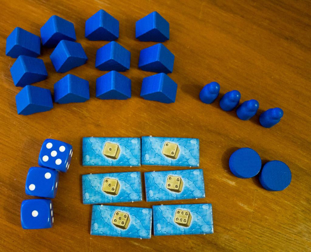 Bora Bora - Spielmaterial