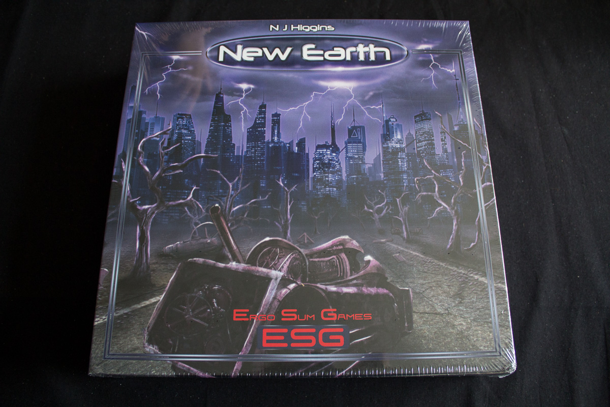 New Earth – Unboxing