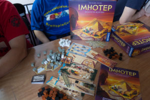 Imhotep - Spielmaterial