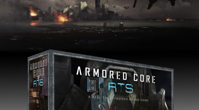 Armored Core™ RTS – A Real Time Strategy Board Game