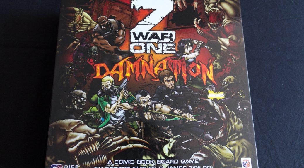 Z War One - Damnation - Box