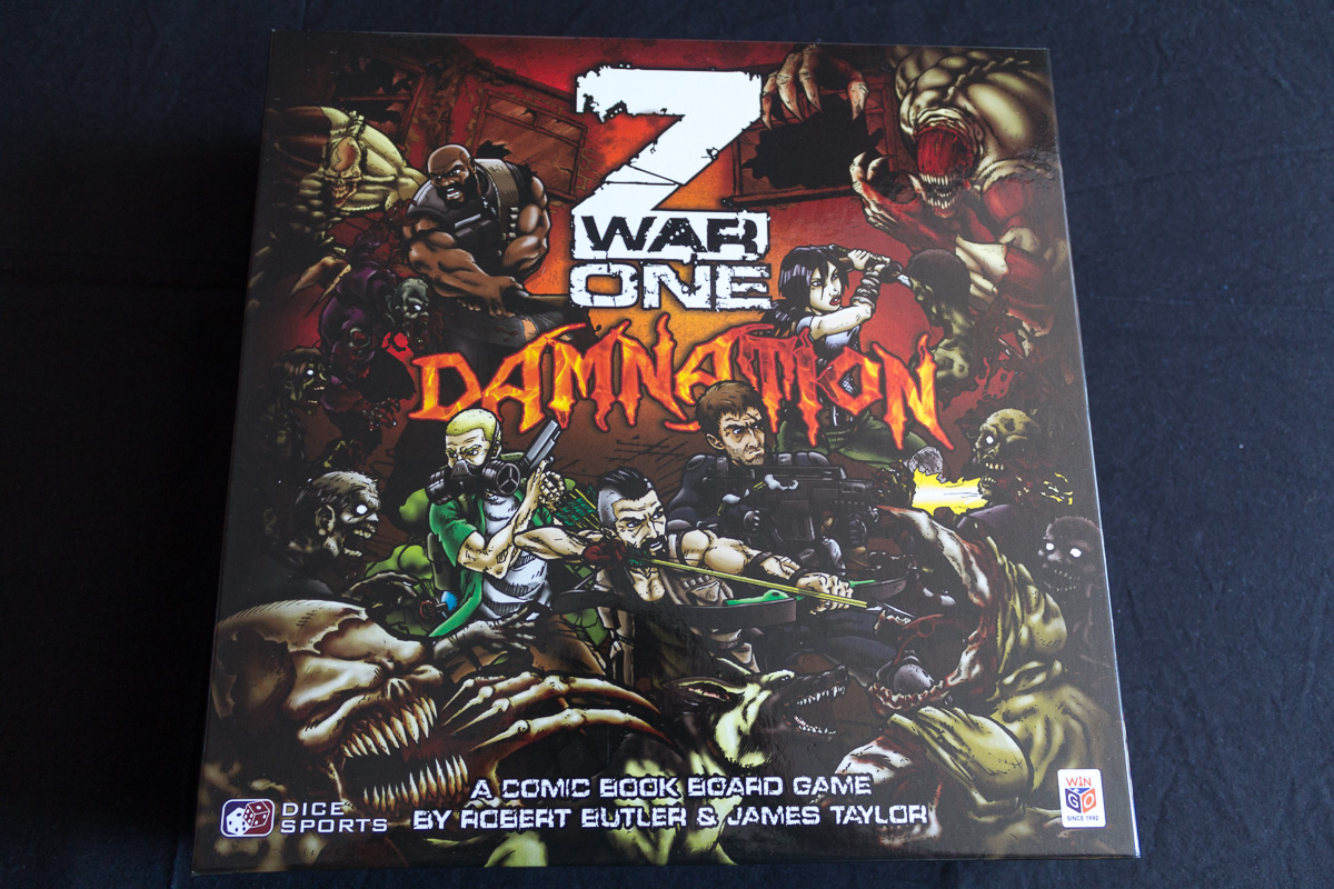 Z War One – Damnation – Unboxing