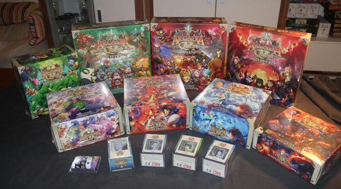 Arcadia Quest Inferno eingetroffen!