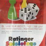 Ratinger Spieletage 2017 - Bericht