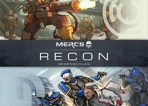 MERCS: Recon - Gegenschlag Logo