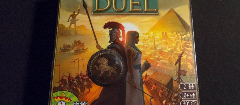 7 Wonders Duel - Box