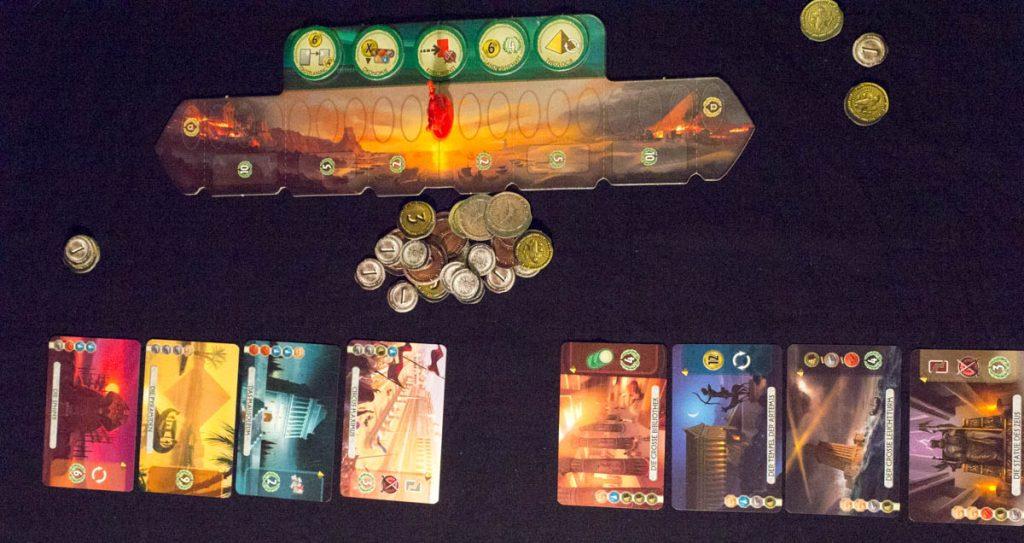 7 Wonders Duel - Spielaufbau