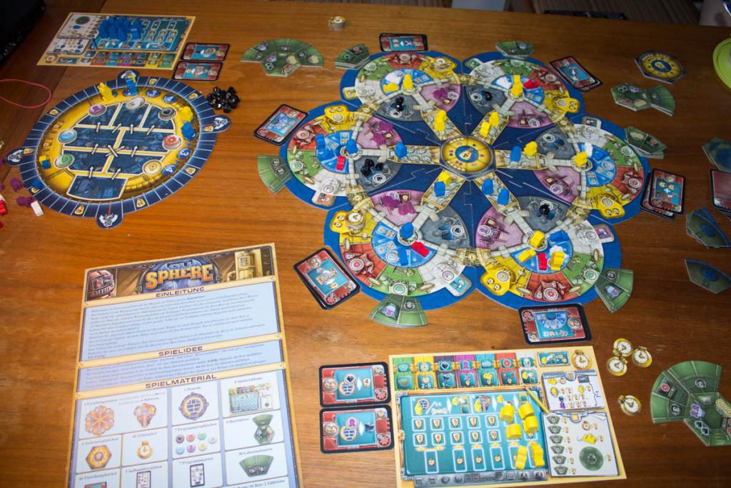 AquaSphere - Spielaufbau